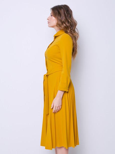Евгения платье янтарь