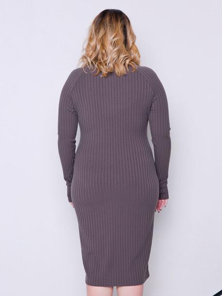 Уолли TRAND платье мокко