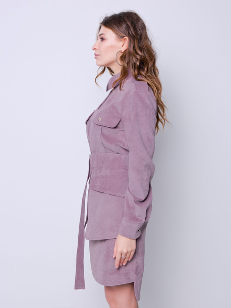 Линдси платье визон