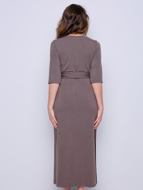 Карамель платье мокко