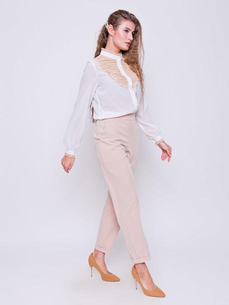 Малена блуза ваниль