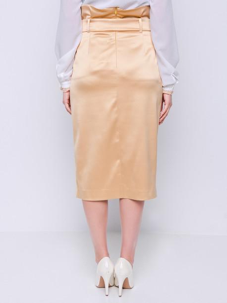 Сара юбка золотой
