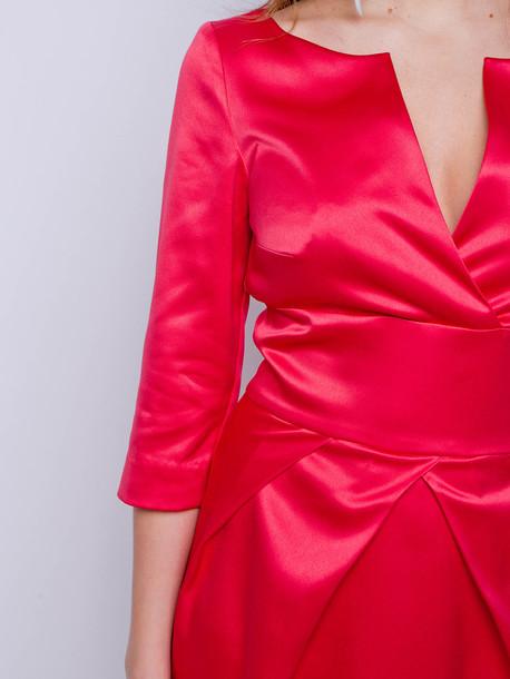 София платье амарант