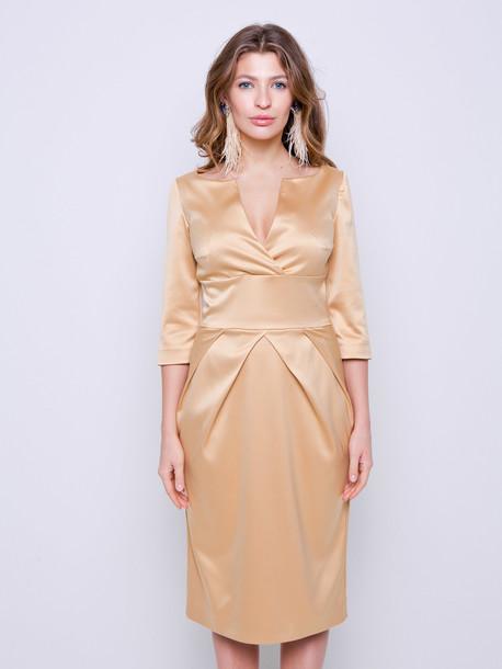 София платье золотой