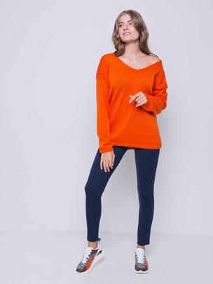 Ловель пуловер танжерин