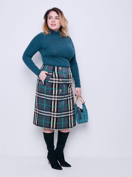 Тиана юбка травяной