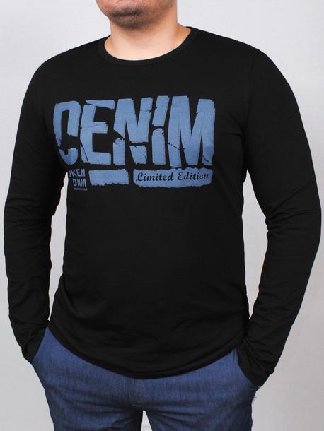 DNM long футболка длинный рукав черный