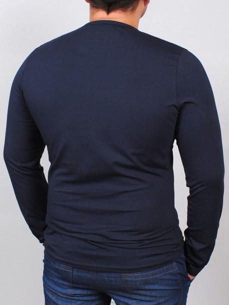 DNM long футболка длинный рукав т.синий