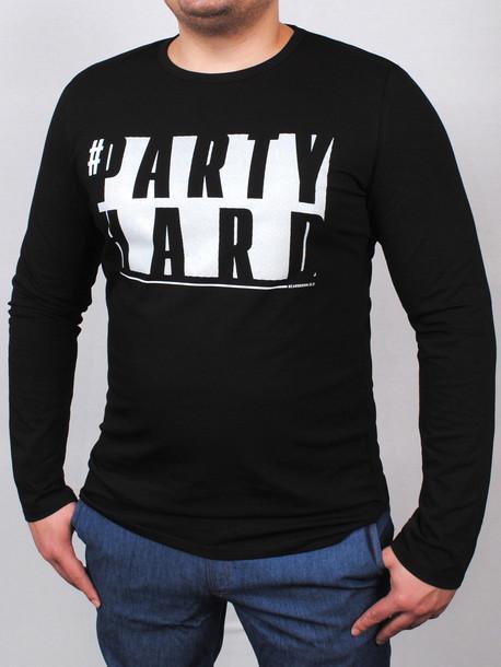 PARTY long футболка длинный рукав черный
