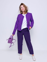 Кристен куртка фиолет