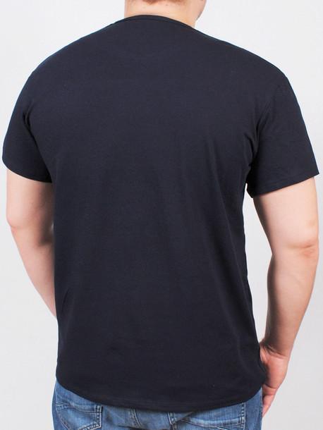 BIG SOPOT футболка т.синий