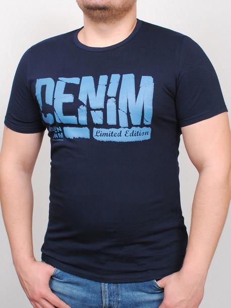 DNM футболка т.синий
