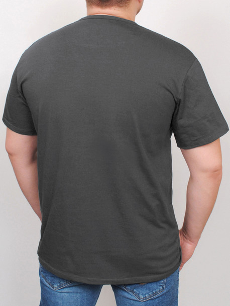 BIG BUZZ футболка графит