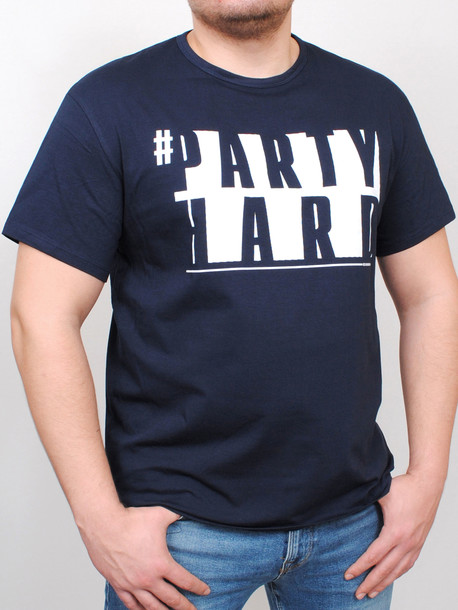 BIG PARTY футболка т.синий