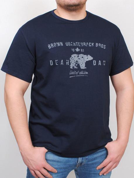 BIG BROWN футболка т.синий