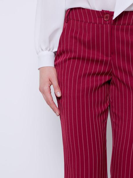 Лидия брюки гранат