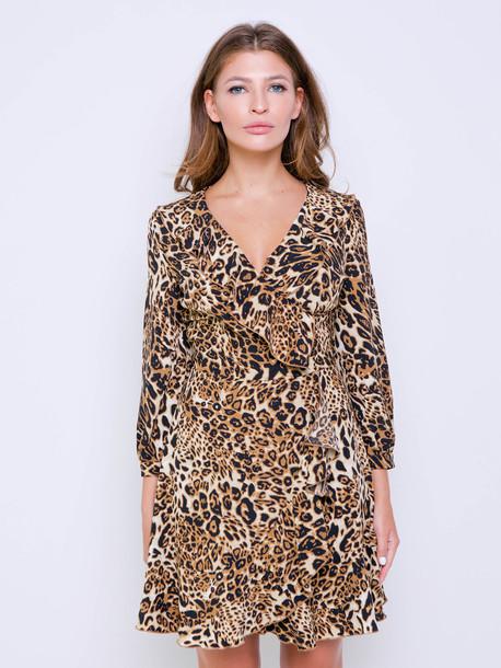 Анастасия платье корица