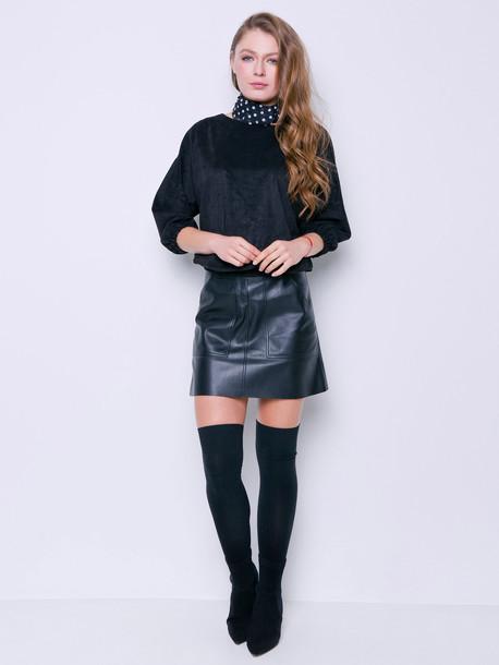 Даниэлла юбка оникс
