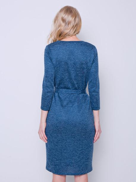 Мила платье лазурь