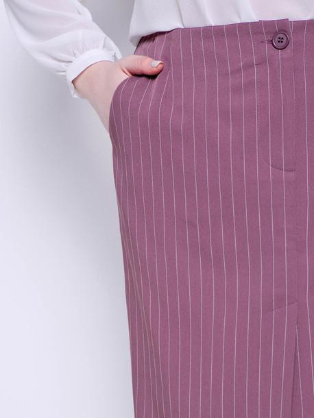 Твилла полоса TRAND юбка визон