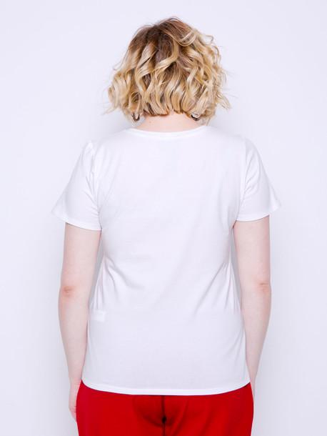 Выбор футболка TRAND молочный