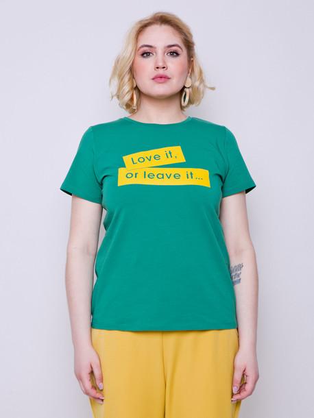 Выбор футболка TRAND нефрит