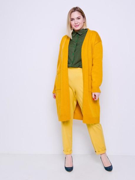 Джереми брюки банановый