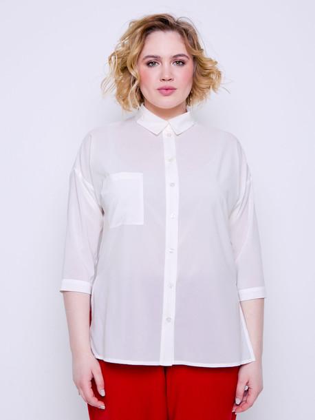 Саломея блуза пломбир