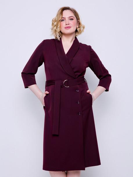 Эсма платье бургунди