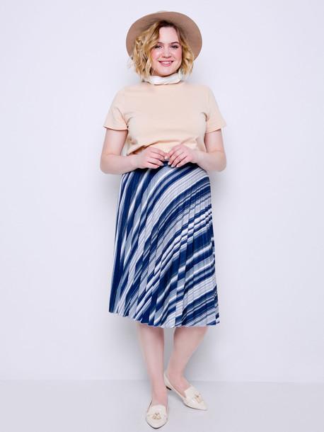 Маэлла TRAND принт юбка агат