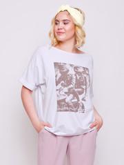 Эмина футболка пломбир