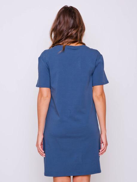 Тамани платье-футболка антрацит