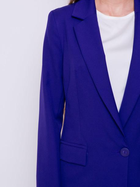 Кэрол удлиненный жакет ультрафиолет
