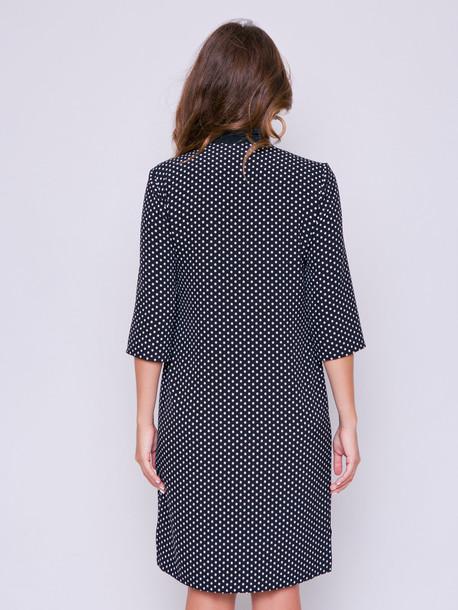 Бетти принт платье оникс
