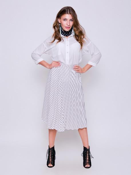 Саломея GRAND блуза молочный