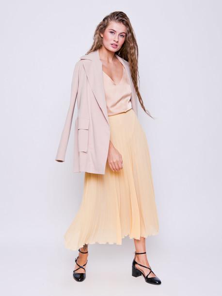 Сенди юбка ваниль
