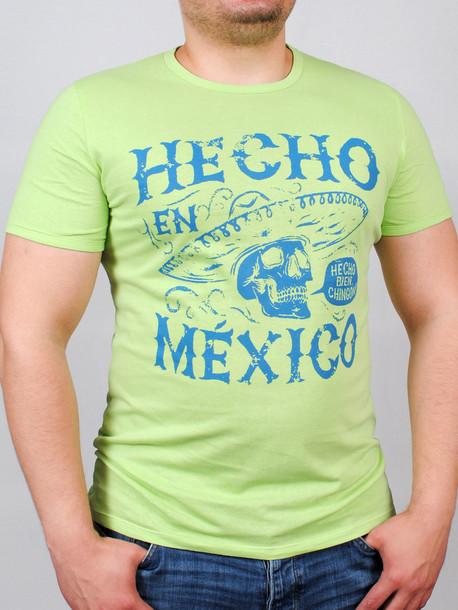 MEXICAN футболка салатовый