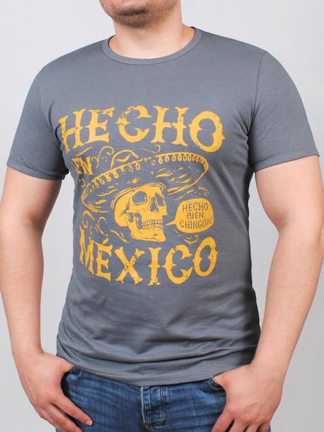 MEXICAN футболка серый