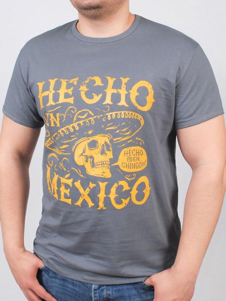 BIG MEXICAN футболка серый