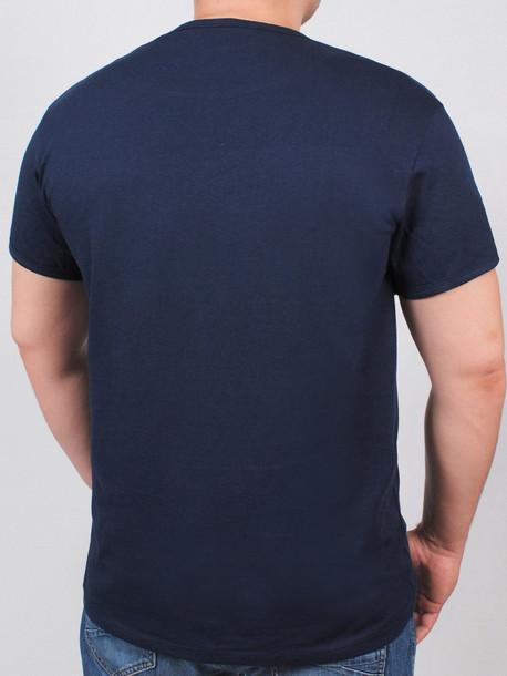 BIG MEXICAN футболка т.синий