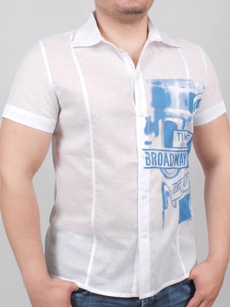SUNDAY рубашка белый