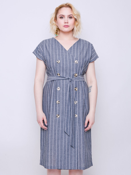 Амбер платье графит