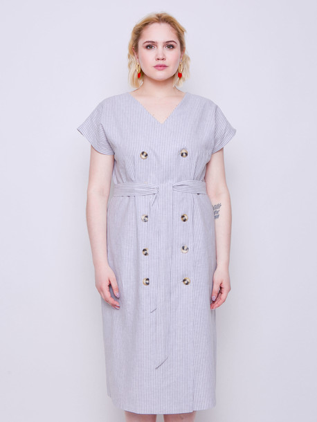 Амбер платье полоса