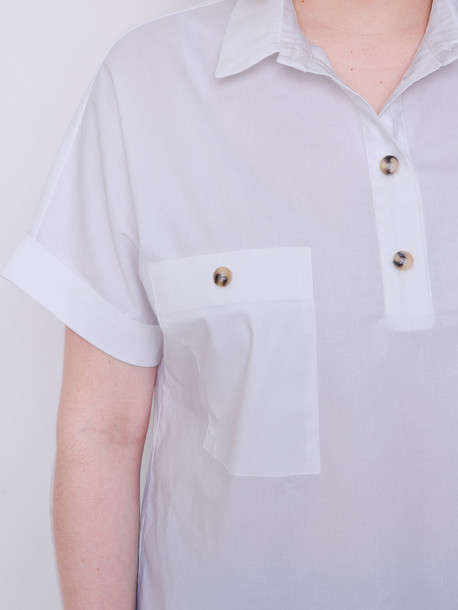 Ивонет блуза пломбир