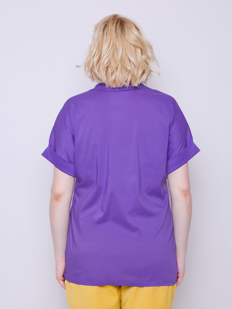 Ивонет блуза сирень