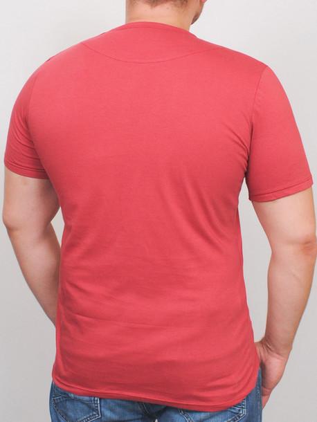 NEWTOWN футболка терракот