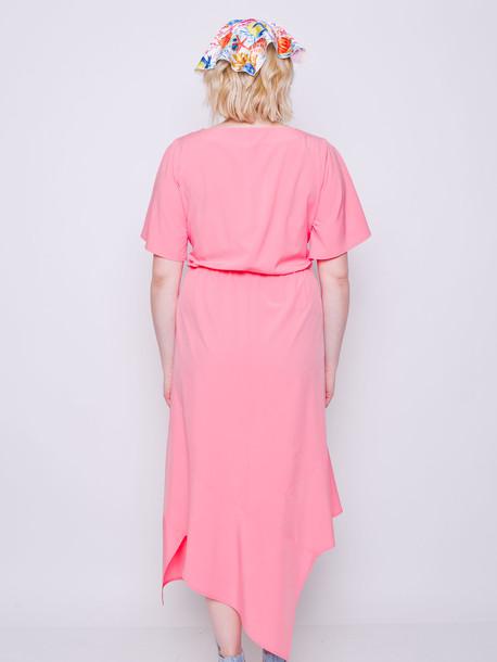 Элина платье коралл