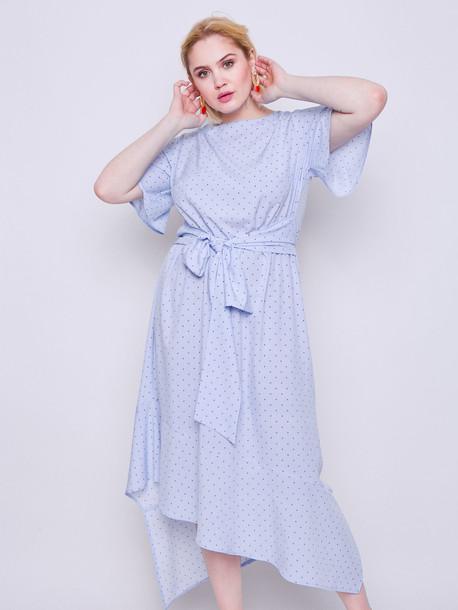 Элина платье сизый