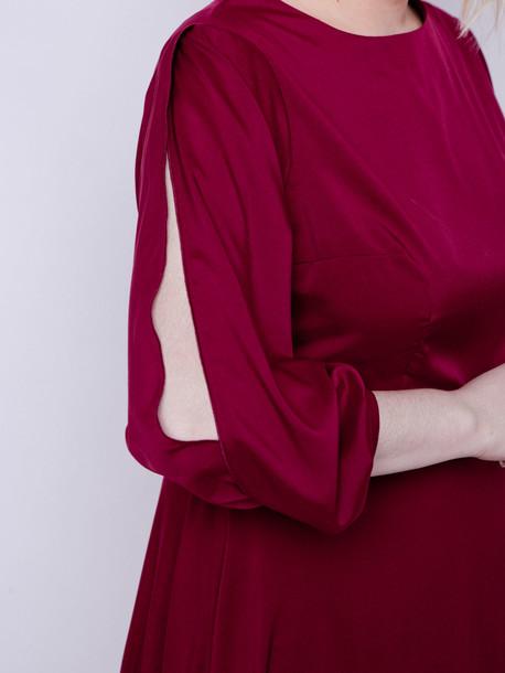 Камилла платье рубин