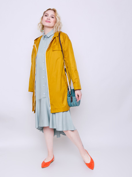 Мэделин платье оливковый